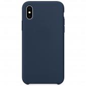 Husa TPU OEM Pure Silicone pentru Samsung Galaxy A32 5G A326, Bleumarin