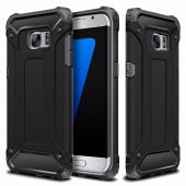 Husa Plastic - TPU OEM Tough Armor pentru Samsung Galaxy S7 edge G935, Neagra