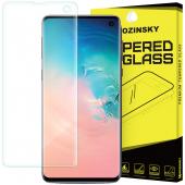Folie Protectie Ecran WZK pentru Samsung Galaxy S10 G973, Sticla securizata, 9H
