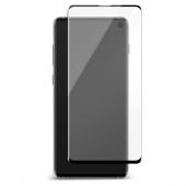 Folie Protectie Ecran OEM pentru Samsung Galaxy S10 G973, Plastic, Full Face, Full Glue, Neagra