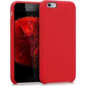 Husa TPU Vennus Silicone MP pentru Apple iPhone 6s / Apple iPhone 6, Rosie