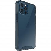 Husa Plastic - TPU UNIQ Combat Antisoc pentru Apple iPhone 12 / Apple iPhone 12 Pro, NAUTICAL BLUE, Bleumarin