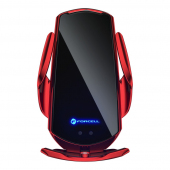 Incarcator Auto Wireless Forcell HS1, Quick Charge, 15W, IR, Conectori Magnetici, Rosu