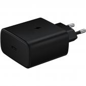 Incarcator Retea USB Samsung EP-TA845XB, 1 X USB Tip-C, Fast Charge, 45W, Negru