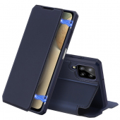 Husa Poliuretan DUX DUCIS Skin X pentru Samsung Galaxy A12 A125, Bleumarin
