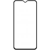 Folie Protectie Ecran OEM pentru Samsung Galaxy A12 A125, Sticla Flexibila, Full Face, Full Glue, 9D, Ceramic, Neagra
