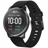 Ceas Smartwatch Haylou LS05 Solar, Negru