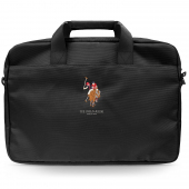 Geanta Laptop U.S. Polo, 15 inci, Neagra USCB15PUGFLBK