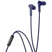 Handsfree Casti In-Ear HOCO M72 Admire, Cu microfon, 3.5 mm, Albastru