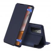 Husa Piele DUX DUCIS Skin X pentru Samsung Galaxy A52 A525 / Samsung Galaxy A52 5G, Bleumarin