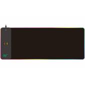 MousePad HAVIT MP907, Gaming, RGB, cu incarcare Wireless, Negru