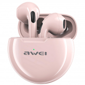 Handsfree Casti Bluetooth Awei T17, SinglePoint, Roz