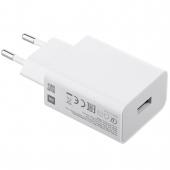 Incarcator Retea USB Xiaomi, 1 X USB, Quick Charge, 18W, Alb MDY-10-EF