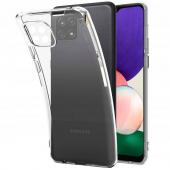 Husa TPU Tech-Protect FLEXAIR CRYSTAL pentru Samsung Galaxy A22 5G, Transparenta