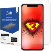 Folie Protectie Ecran 3MK FlexibleGlass Lite pentru Apple iPhone 11, Sticla Flexibila, 0.16mm