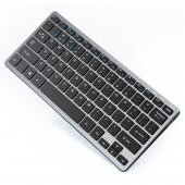Tastatura Wireless Inphic V780B, WiFi 2.4 Ghz / Bluetooth 5.0 / 3.0, Gri
