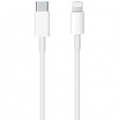 Cablu Date si Incarcare USB Type-C la Lightning Apple, 1 m, Alb MX0K2ZM