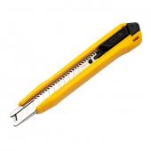Cutter Deli Tools EDL009B, Model SK4, 9mm, Galben