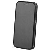 Husa Piele OEM Elegance pentru Samsung Galaxy A22 5G, Neagra