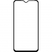 Folie Protectie Ecran Blue Star pentru Samsung Galaxy A32 5G A326, Sticla securizata, Full Face, Edge Glue, 5D, Neagra