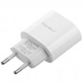Incarcator Retea USB EnviroBest EN04, Quick Charge, 20W, 1 X USB Tip-C, Alb