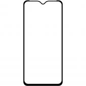 Folie Protectie Ecran OEM pentru Samsung Galaxy A22 5G, Sticla securizata, Full Face, Full Glue, 6D, Neagra