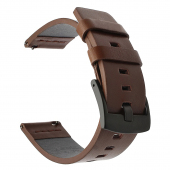 Curea Ceas Tactical 311 Leather Band, 20 mm, Maro