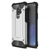 Husa Plastic - TPU OEM Tough Armor pentru Samsung Galaxy S9+ G965, Argintie