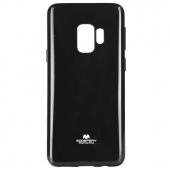 Husa TPU Goospery Mercury Jelly pentru Samsung Galaxy S9+ G965, Neagra