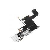 Banda cu conector incarcare / date audio si microfon Apple iPhone 6 alb