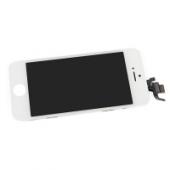 Display cu touchscreen si rama Apple iPhone 5 alb