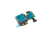 Modul cititor SIM si card MicroSD Samsung I9505 Galaxy S4