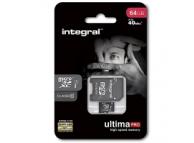 Card memorie Integral UltimaPRO MicroSDXC 64GB Clasa 10