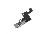 Banda cu conector incarcare / date audio si microfon Apple iPhone 6 gri