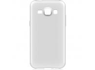 Husa silicon TPU Samsung Galaxy J1 J100 Slim transparenta