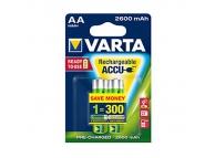 Pachet baterie reincarcarcabila Varta R6 / AA NimH 2600mA (2 bucati) Blister Original