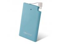 Baterie externa Powerbank Forever Slim 2500mA albastra Blister