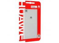 Husa plastic Huawei P8 argintie Blister Originala