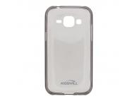 Husa silicon TPU Samsung Galaxy J1 J100 Kisswill gri Blister Originala