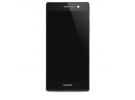Display cu touchscreen si rama Huawei Ascend P7 Dual SIM