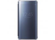 Husa plastic Samsung Galaxy S6 edge+ G928 Clear View EF-ZG928CBEGWW Bleumarin Blister Originala