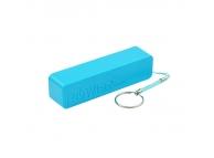 Baterie externa Powerbank 2600mA Blun Perfume albastra Blister