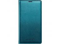 Husa piele Samsung Galaxy S5 G900 EF-WG900BG turquoise Blister Originala