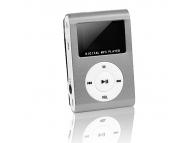 MP3 Player cu afisaj argintiu Blister