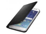 Husa piele Samsung Galaxy J5 J500 EF-WJ500BB Blister Originala