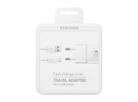 Incarcator retea MicroUSB Samsung EP-TA20EWEUGWW Fast Charging alb Blister Original