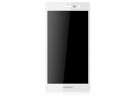 Display cu touchscreen Huawei Ascend P7 Dual SIM alb