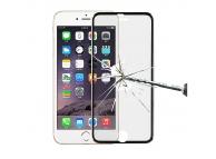 Folie Protectie ecran antisoc Apple iPhone 6 Tempered Glass Full Face Neagra