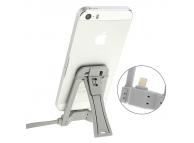 Suport birou cu incarcare Lightning Apple iPhone 6 gri Blister