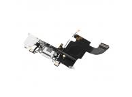 Banda cu conector incarcare / date audio si microfon Apple iPhone 6s alba